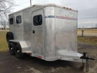 1996 Other ALUM-LINE 2 HORSE TRAILER VERY NICE