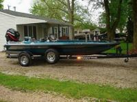 I have up for auction a 1996 Ranger 354 XT Bass Boat