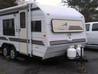 this is a 17ft sunline camper 96 model in great shape