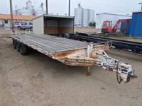 Up For Sale is a heavy equiptment 18k, triple axle