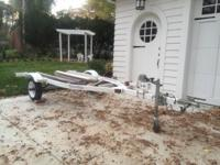 A 1996 Yacht Club Trailer for Waverunner for sale.