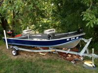 I am selling my 1997 14' Smokercraft Bass Boat, fits