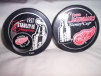 SELLING NHL 1997 & 1998 DETROIT RED WINGS STANLEY CUP