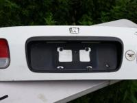 white trunklid for a 1997-2000  Honda Civic Lx,