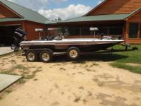 1997 202 Champion Bass Boat with 2003 250HP EFI Merc,