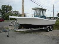 For sale, 23' Offshore Center-console boat without a