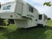 Stock Number: 721081. 5th Wheel camper for sale. Inside
