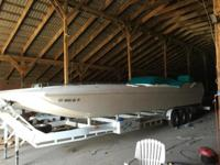 1 of 7 boats ever made. All rigging except motor and