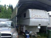1997 Alfa Gold 5th Wheel. Tires with 1000 miles and