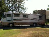 1997 37' Allegro Bus RV for sale. Powered by Cat
