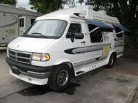 This 1997 American Cruiser van is built on a Dodge Ram