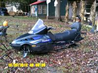 1997 Panther 2 up Touring Sled,Reverse,Electric
