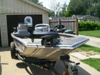 1997 PRO TEAM BASS TRACKER BOAT HAS A 2001 LONG SHAFT