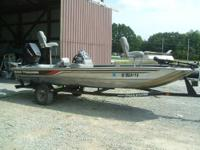 1997 Bass Tracker Pro 17 with a 1997 75 HP Mercury