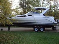 For sale: 1997 Bayliner 2855 with trailer. Mercruiser