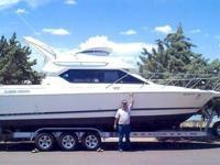 1997 Bayliner 2558 Command Bridge 28, Tidy fresh water