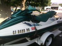97' GTX Bombardie Seadoo, engine 787, size 781.6, tags