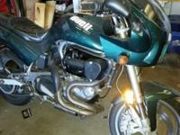 1997 Buell thunderbolt has been upgraded with screaming