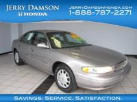 1997 Buick Century 4dr Car CUSTOM Our Location is: