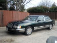 1997 CADILLAC DEVILLE LESS THAN 100,000 ORIGINAL MILES.