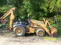 97 CASE 580 BACKHOE 2wd THIS IS NOT A 4X4. AS YOU CAN