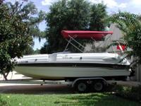 1997 Chaparral 232 Sunesta Deck Boat Excellent