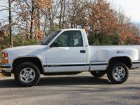 1997 Chevy 1500, 4x4, automatic transmission, cloth
