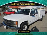 1997 Chevrolet 2500 Utility Truck Engine: 5.7L V8 OHV