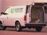 Exterior Color: ivory white, Body: Cargo Van, Engine:
