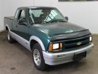Options Included: N/A1997 CHEVROLET S-10 Ext Cab 122.9""