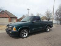 1997 Chevrolet S-10 Regular Cab Exterior- Green.