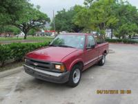 1997 Chevrolet S10 in very good condition, with