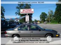 1997 Chevrolet Lumina Price: $2,995 Year: 1997 Make: