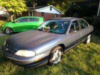 Excellent running Chevy Lumina. Has power seats and