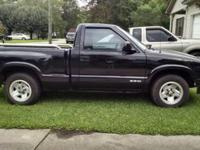 1997 Chevrelot S10, single cab. Five speed. A few paint