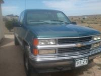 97 K1500 extended cab silverado for sale. 350 5.7