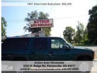 1997 Chevrolet Suburban Price: $6,495 Year: 1997 Make: