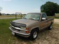 1997 Chevy pick up truck. 4.3 liter engine. Run's great