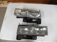 Driver & Passenger side headlamp from a 1997 Chevy