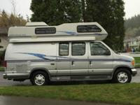 Here is a all original 1997 class b airstream camper