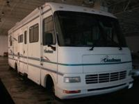 1997 RWD Coachmen Motorhome. Gas. 30,056 miles. Stored