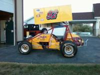 1997 Custom Modern Era Street Legal Sprint Car . 350