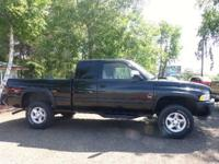 1997 Dodge Ram 1500 (Black) Club Cab 5.9L/V8, Auto