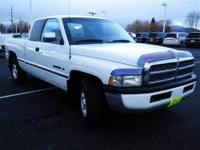 Just Arrived... This White 1997 Dodge Ram 1500 is