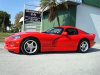 1997 Dodge Viper GTS, V10, 6-speed, leather, loaded,