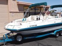 1997 Ebbtide Mystique 2300 Deck Boat 23' $13,995
