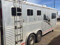 Horses 3 Width 8 Horse Trailer Features Hay rack with