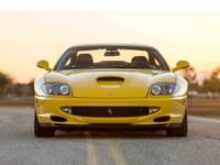 The 550 Maranello is a GT meant for high speed, cross