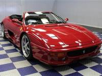FERRARI F355 SPYDER LEATHER 6 SPEED MANUALCONVERTIBLE