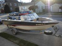 1997 Fisher Hawk 200FS, all aluminum bonded hull